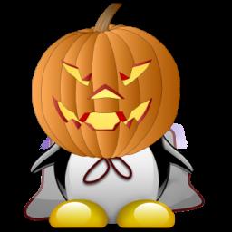 Tux de Halloween